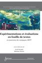 Couverture de l'ouvrage Expérimentations et évaluations en fouille de textes