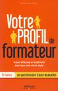 Couverture de l'ouvrage Votre profil de formateur