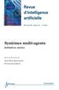 Couverture de l'ouvrage Systèmes multi-agents (Revue d'intelligence artificielle RSTI série RIA Volume 26 N° 5/Septembre-Octobre 2012)