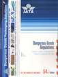Couverture de l'ouvrage Dangerous goods regulations (IATA)