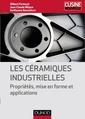 Couverture de l'ouvrage Les céramiques industrielles