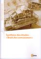 Couverture de l'ouvrage Synthèse des études « Bruit des concasseurs »