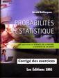 Couverture de l'ouvrage Probabilités et statistique pour les sciences de la nature et les sciences de la santé (3e éd.)