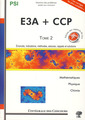 Couverture de l'ouvrage Concours CCP et E3A