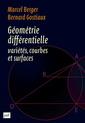 Couverture de l'ouvrage Géométrie différentielle