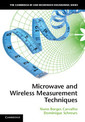 Couverture de l'ouvrage Microwave and wireless measurement techniques