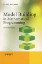 Couverture de l'ouvrage Model Building in Mathematical Programming