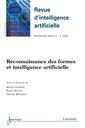Couverture de l'ouvrage Reconnaissance des formes et intelligence artificielle