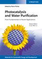 Couverture de l'ouvrage Photocatalysis and Water Purification