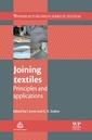 Couverture de l'ouvrage Joining Textiles