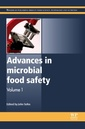 Couverture de l'ouvrage Advances in Microbial Food Safety
