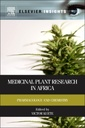 Couverture de l'ouvrage Medicinal Plant Research in Africa