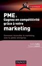 Couverture de l'ouvrage PME : gagner en compétitivité grâce au marketing
