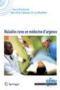 Couverture de l'ouvrage Maladies rares en médecine d'urgence