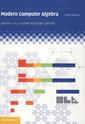 Couverture de l'ouvrage Modern computer algebra