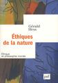 Couverture de l'ouvrage Éthique de la nature