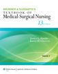 Couverture de l'ouvrage Brunner & Suddarth's Textbook of Medical-Surgical Nursing