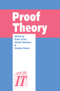 Couverture de l'ouvrage Proof Theory