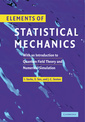 Couverture de l'ouvrage Elements of Statistical Mechanics