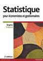 Couverture de l'ouvrage Statistique pour économistes et gestionnaires