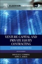 Couverture de l'ouvrage Venture Capital and Private Equity Contracting
