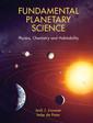 Couverture de l'ouvrage Fundamental Planetary Science