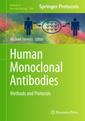 Couverture de l'ouvrage Human Monoclonal Antibodies
