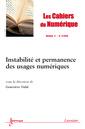 Couverture de l'ouvrage Les Cahiers du Numérique Volume 9 N° 2/Avril-Juin 2013