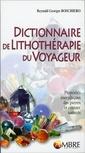 Couverture de l'ouvrage Dictionnaire de lithothérapie du voyageur