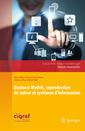 Couverture de l'ouvrage Business Models, coproduction de valeur et systèmes d'information