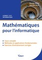 Couverture de l'ouvrage Mathématiques pour l'informatique