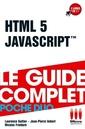 Couverture de l'ouvrage HTML 5 et JavaScript