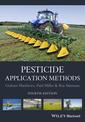Couverture de l'ouvrage Pesticide application methods