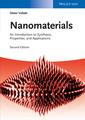 Couverture de l'ouvrage Nanomaterials