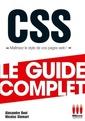 Couverture de l'ouvrage CSS maîtrisez le style de vos pages web !