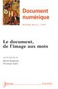 Couverture de l'ouvrage Document numérique RSTI série DN Volume 16 N° 2/Mai-Août 2013