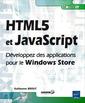 Couverture de l'ouvrage HTML5 et JavaScript