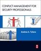 Couverture de l'ouvrage Conflict Management for Security Professionals
