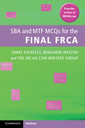Couverture de l'ouvrage SBA and MTF MCQs for the Final FRCA