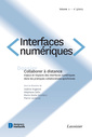 Couverture de l'ouvrage Interfaces numériques Volume 2 N° 3/Septembre-Décembre 2013