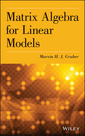 Couverture de l'ouvrage Matrix Algebra for Linear Models