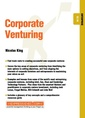 Couverture de l'ouvrage Corporate Venturing