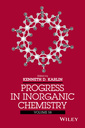 Couverture de l'ouvrage Progress in Inorganic Chemistry. Volume 58