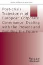Couverture de l'ouvrage Post-crisis Trajectories of European Corporate Governance