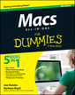 Couverture de l'ouvrage Macs All-in-One For Dummies