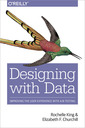 Couverture de l'ouvrage Designing with Data