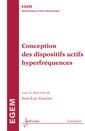 Couverture de l'ouvrage Conception des dispositifs actifs hyperfréquences
