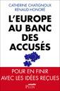Couverture de l'ouvrage L'Europe au banc des accusés