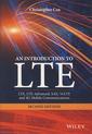 Couverture de l'ouvrage An Introduction to LTE