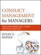 Couverture de l'ouvrage Conflict Management for Managers